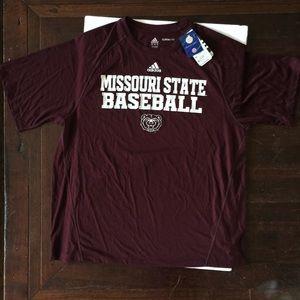 Missouri State Baseball Adidas Size Xl New